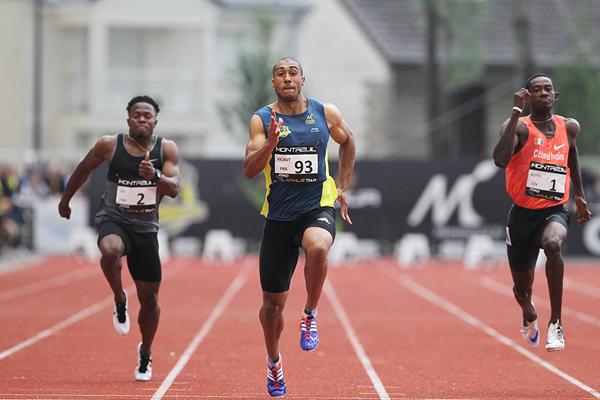 Джимми Вико  повторил еропейский рекорд на 100 м +Видео