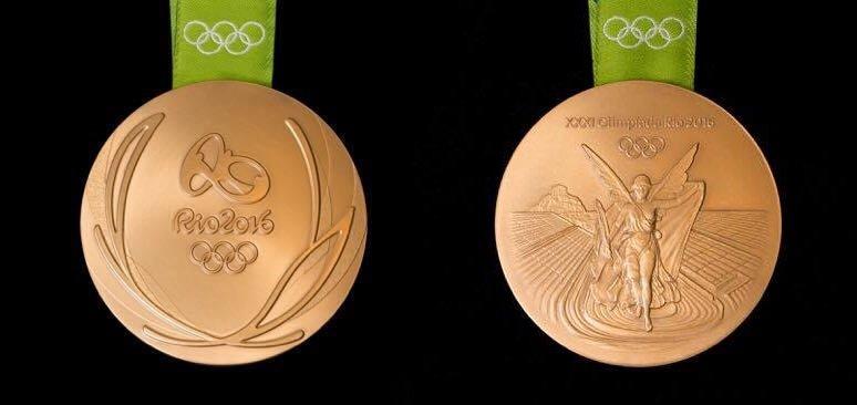 Представлен дизайн медалей ОИ-2016