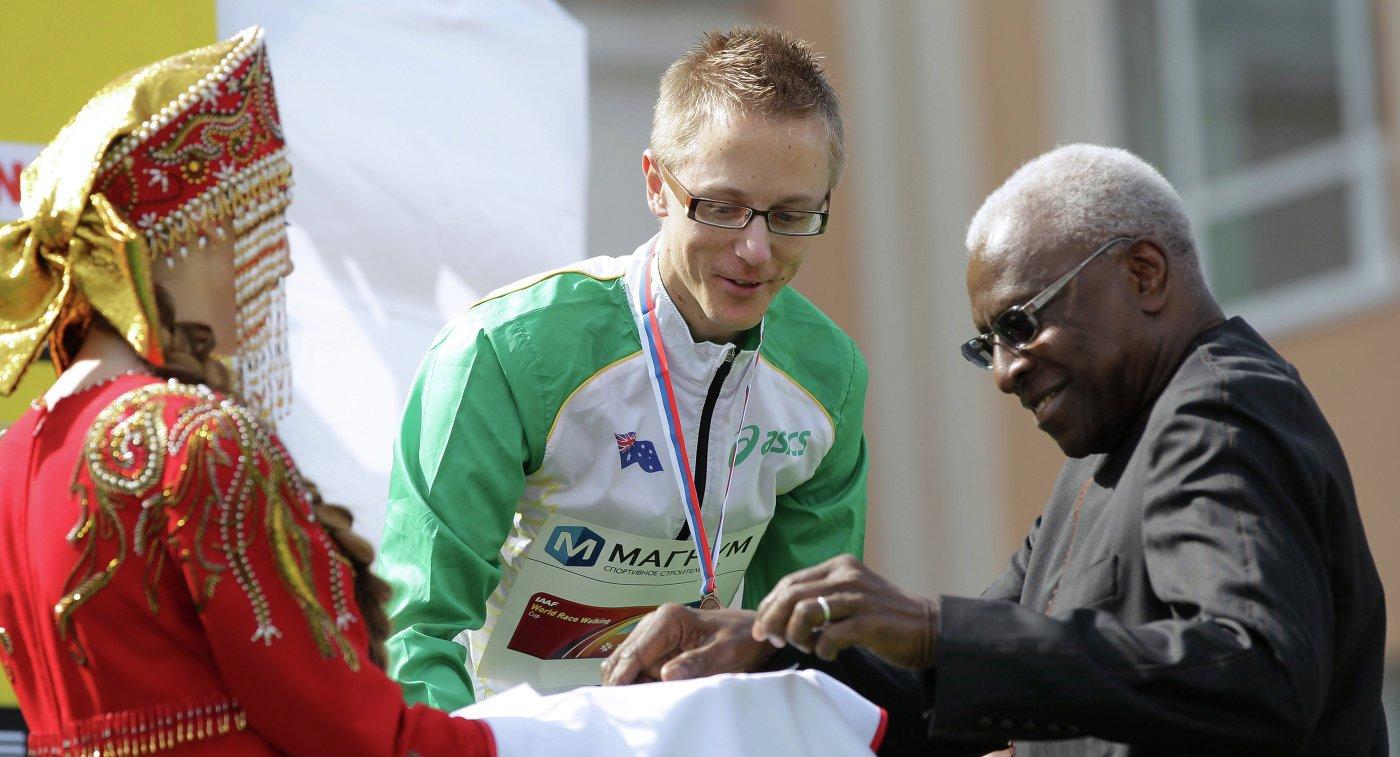 Австралийский ходок получил золотую медаль ОИ-2012, которой лишили Сергея Кирдяпкина