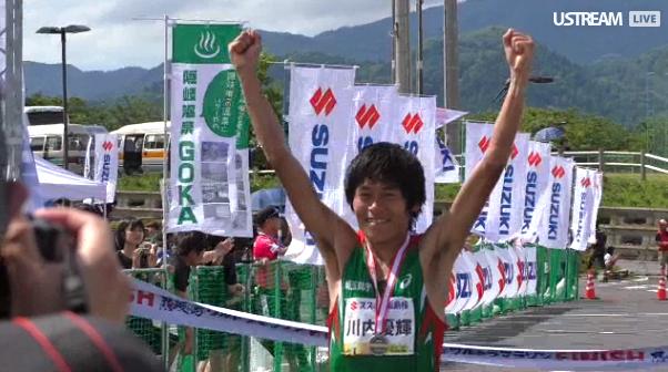 Юки Каваучи показал третий результат в истории на дистанции 50 км