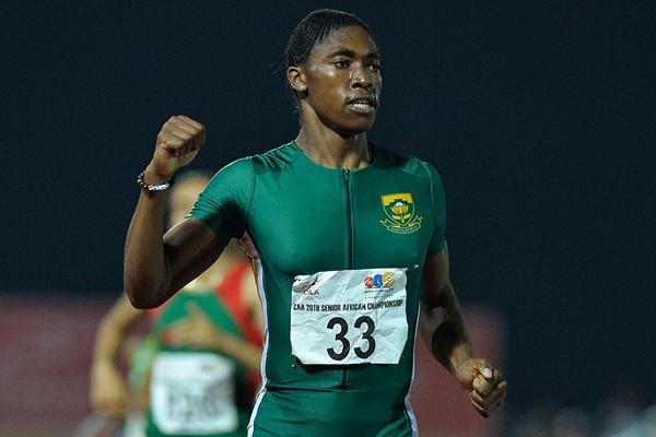 Кастер Семеня победила на чемпионате Африки
