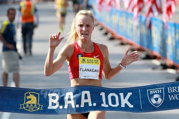 Шалан Фланаган установила новый рекорд США на 10 км