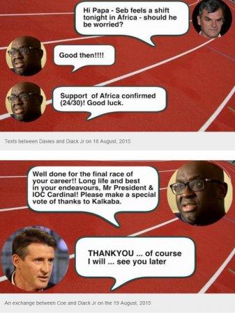 Скандал в легкой атлетике!! Себастьян Коэ обвинен в сотрудничестве с коррупционерами