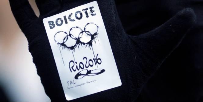 В Рио-де-Жанейро прошла демонстрация с призывом бойкотировать Игры-2016