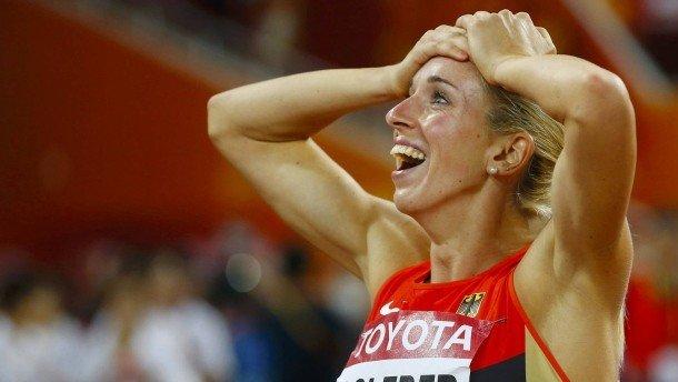 Синди Роледер стала чемпионкой Европы в беге на 100 м с/б +Видео