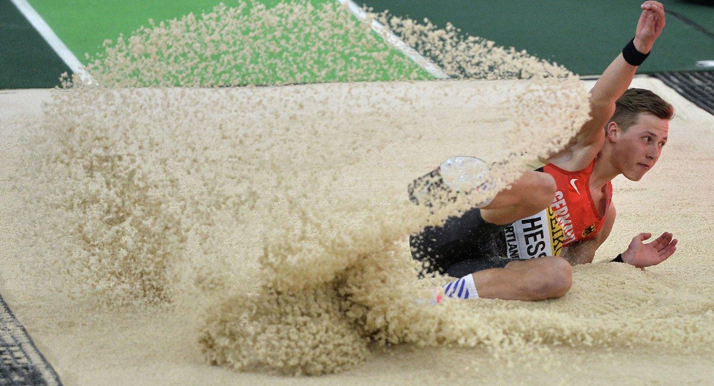 Немец Макс Хесс победил в тройном прыжке на чемпионате Европы
