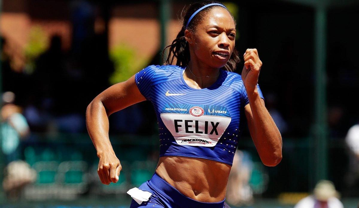 Эллисон Феликс не выполнила отборочный норматив в беге на 200 метров на ОИ-2016