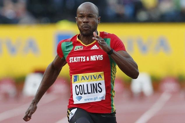 40-летний Ким Коллинз побежит 100-метровку на Олимпиаде в Рио