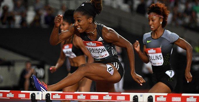 Кендра Харрисон установила мировой рекорд в беге на 100 метров с барьерами +Видео