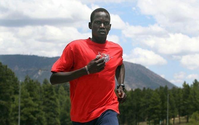 История марафонца Гуора Мариала