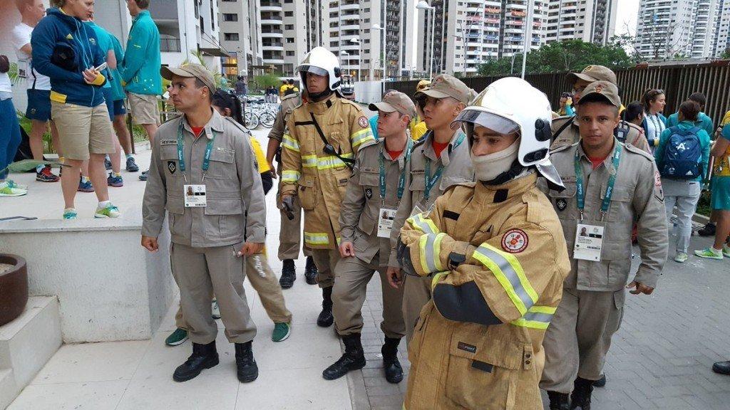 В Олимпийской деревне в Рио-де-Жанейро случился пожар