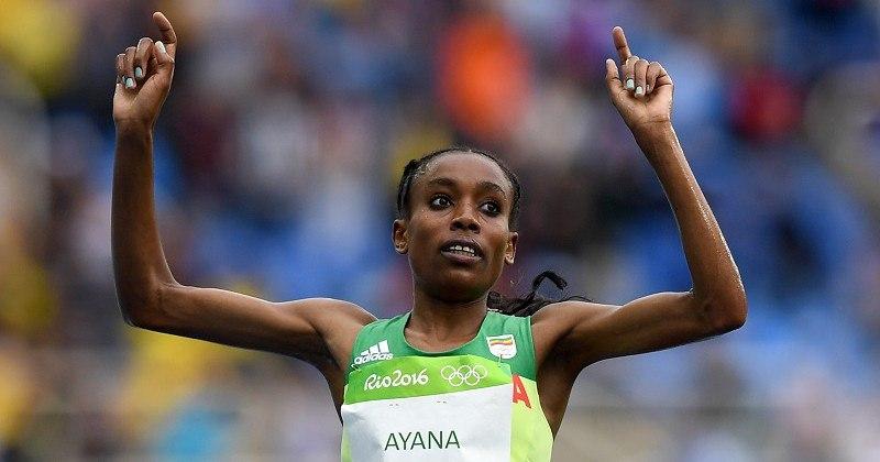 Алмаз Аяна установила новый мировой рекорд в беге на 10 000м на ОИ в Рио!!! +Видео