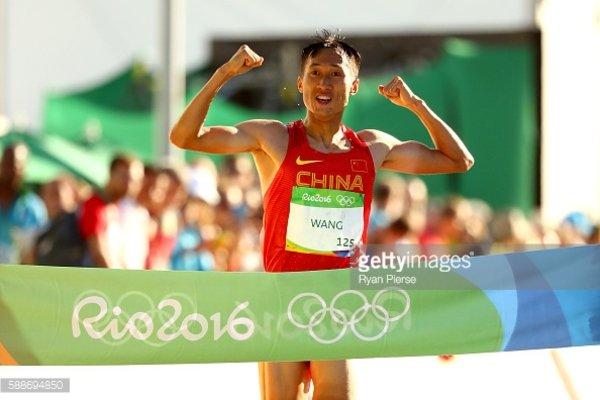 Китаец Ван Чжэнь стал победителем Олимпиады в Рио-де-Жанейро в ходьбе на 20 км