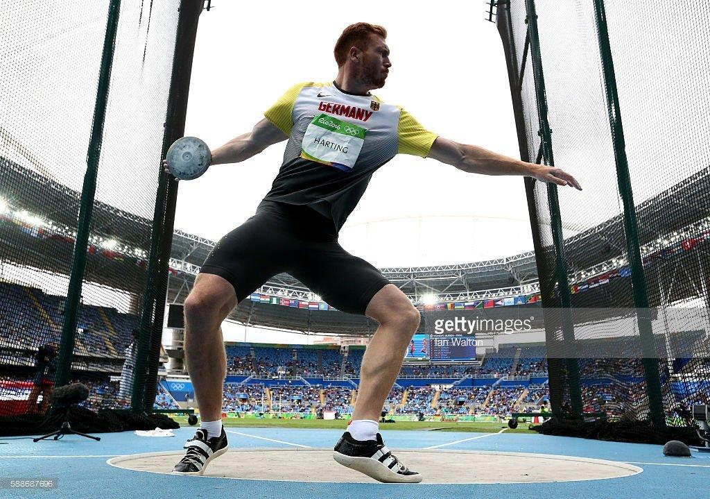 Кристоф Хартинг завоевал золото Олимпиады-2016 в метании диска