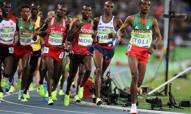 Мо Фара защитил титул олимпийского чемпиона в Рио на 10 000 м +Видео
