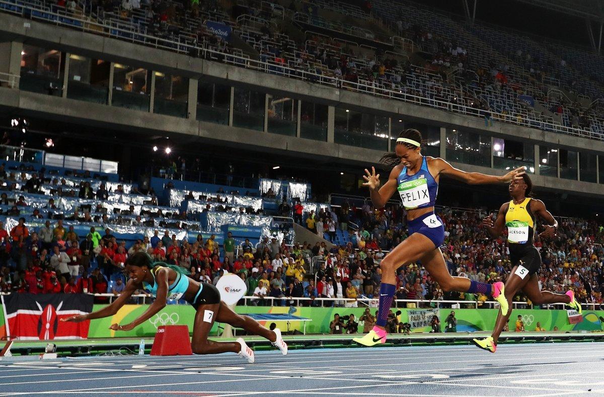 Бегунья с Багамских островов Шона Миллер завоевала золото ОИ-2016 на дистанции 400 м
