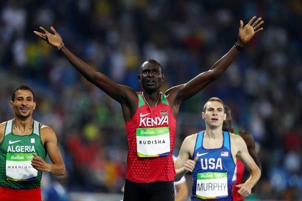 Дэвид Рудиша завоевал золото Олимпиады в Рио в беге на 800 метров