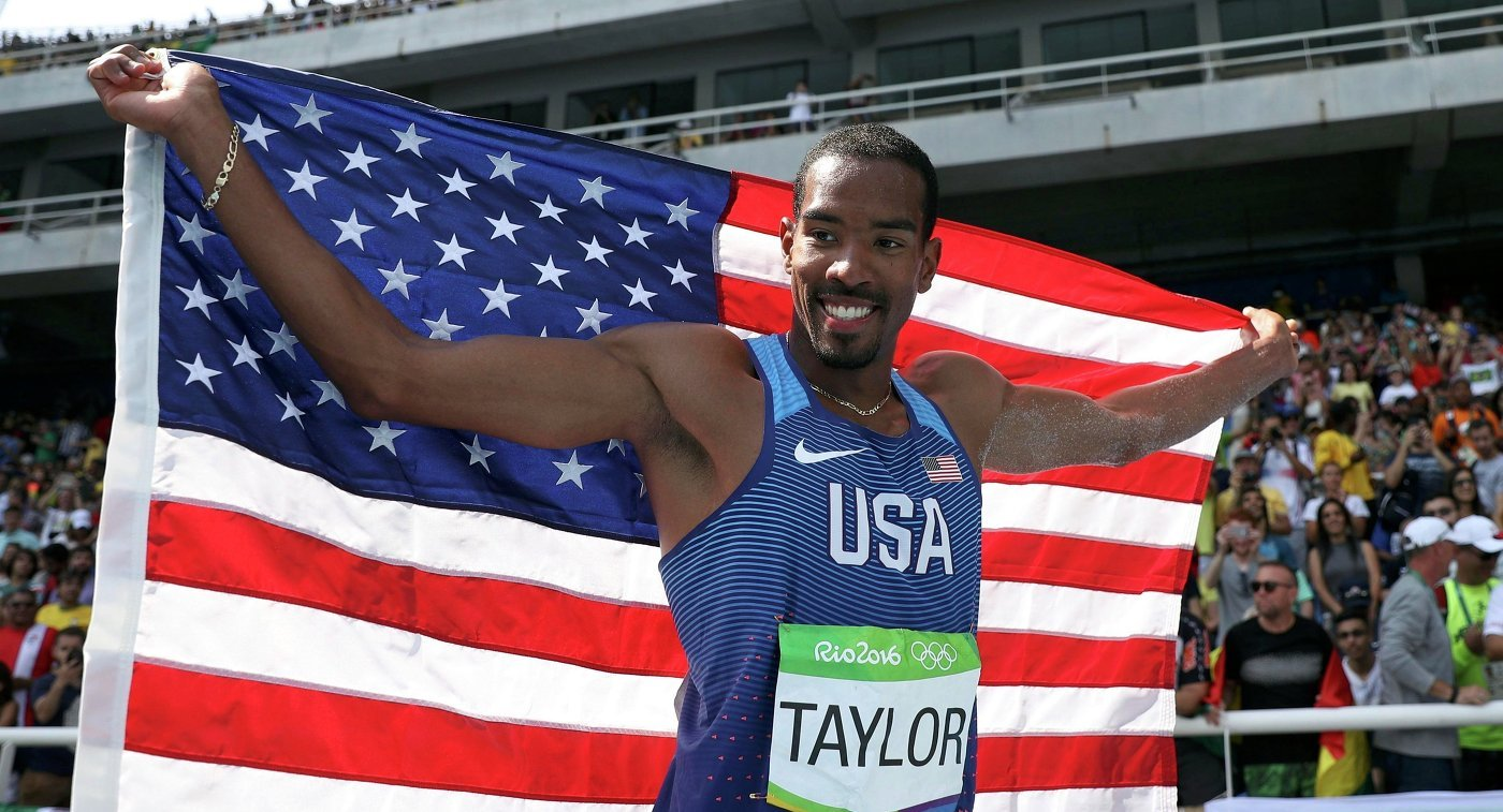 Кристиан Тейлор выиграл золото в тройном прыжке на ОИ-2016 в Рио