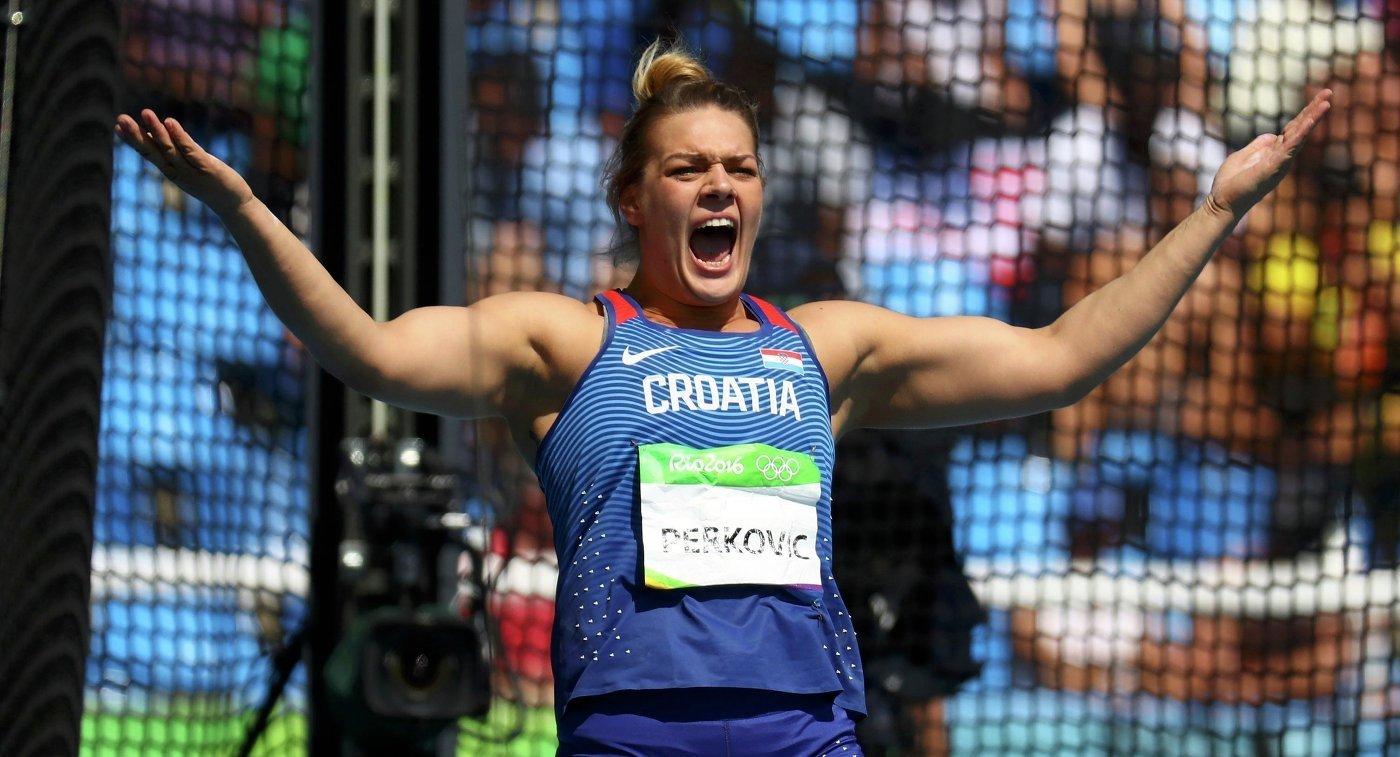 Сандра Перкович завоевала золото ОИ-2016 в метании диска