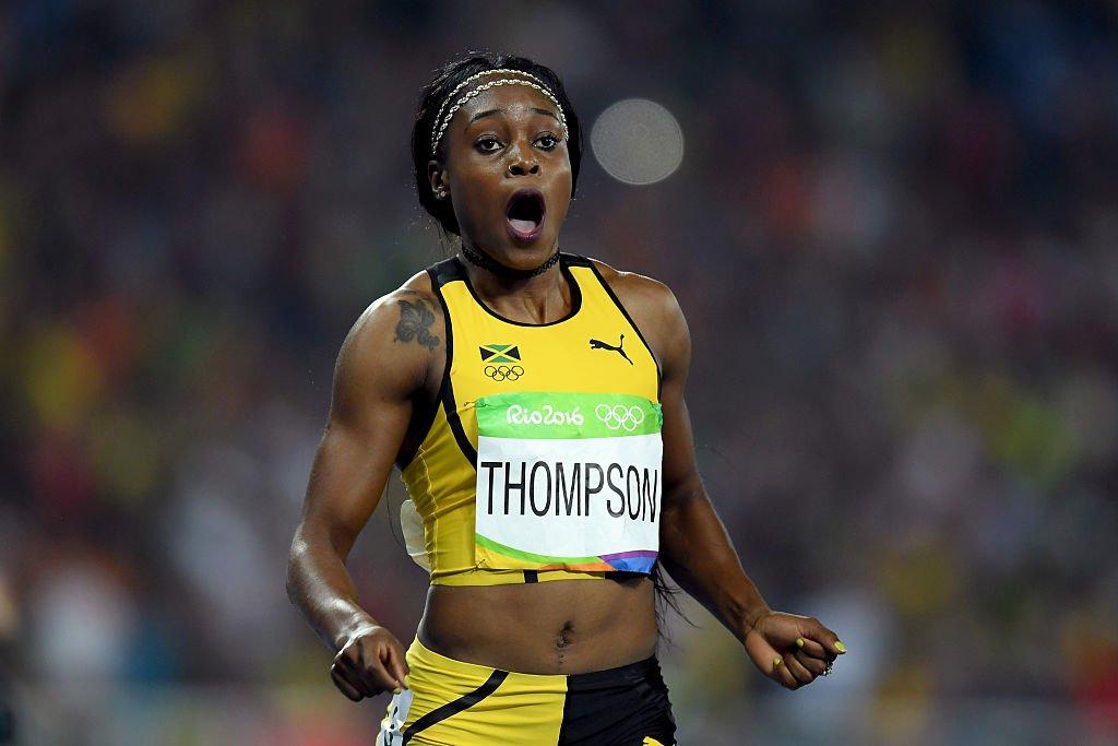 Элани Томпсон одержала победу на Олимпийских играх в Рио на дистанции 200 м