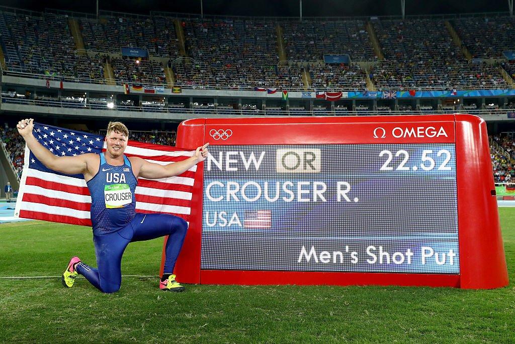 Американец Райан Крузер завоевал золото в толкании ядра на Олимпиаде в Рио