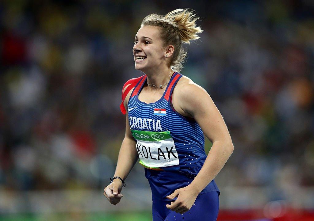 Хорватка Сара Колак завоевала золото в метании копья на Олимпиаде в Рио