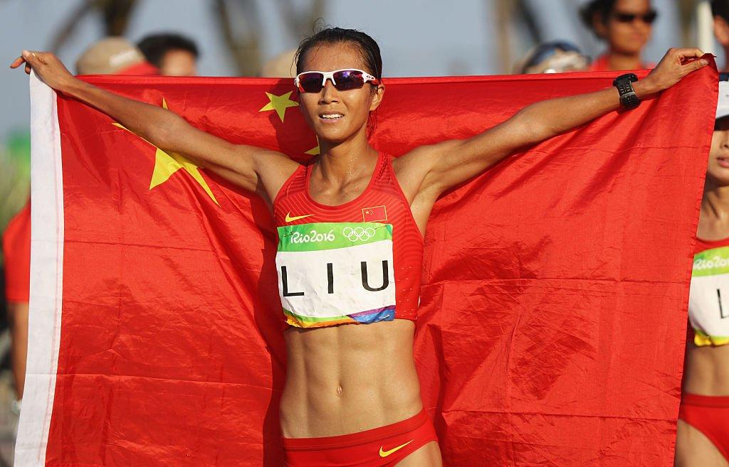 Китаянка Лю Хун стала олимпийской чемпионкой Рио в ходьбе на 20 км