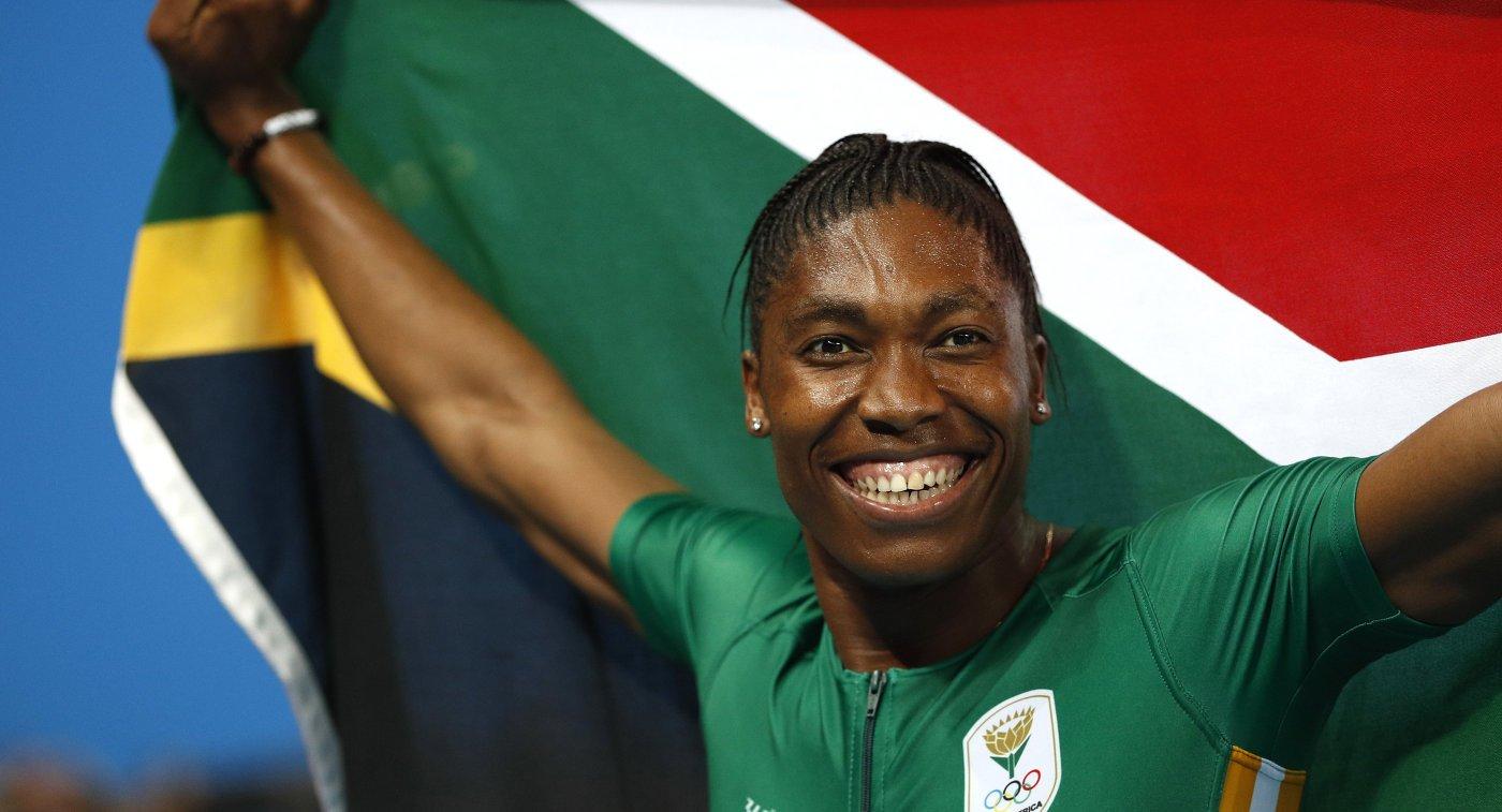 Кастер Семеня из ЮАР завоевала золото ОИ-2016 в беге на 800 метров