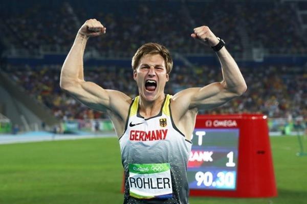 Немец Томас Релер завоевал золото Олимпийских игр в Рио в метании копья