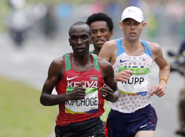 Кениец Элиуд Кипчоге стал олимпийским чемпионом Рио-де-Жанейро в марафоне