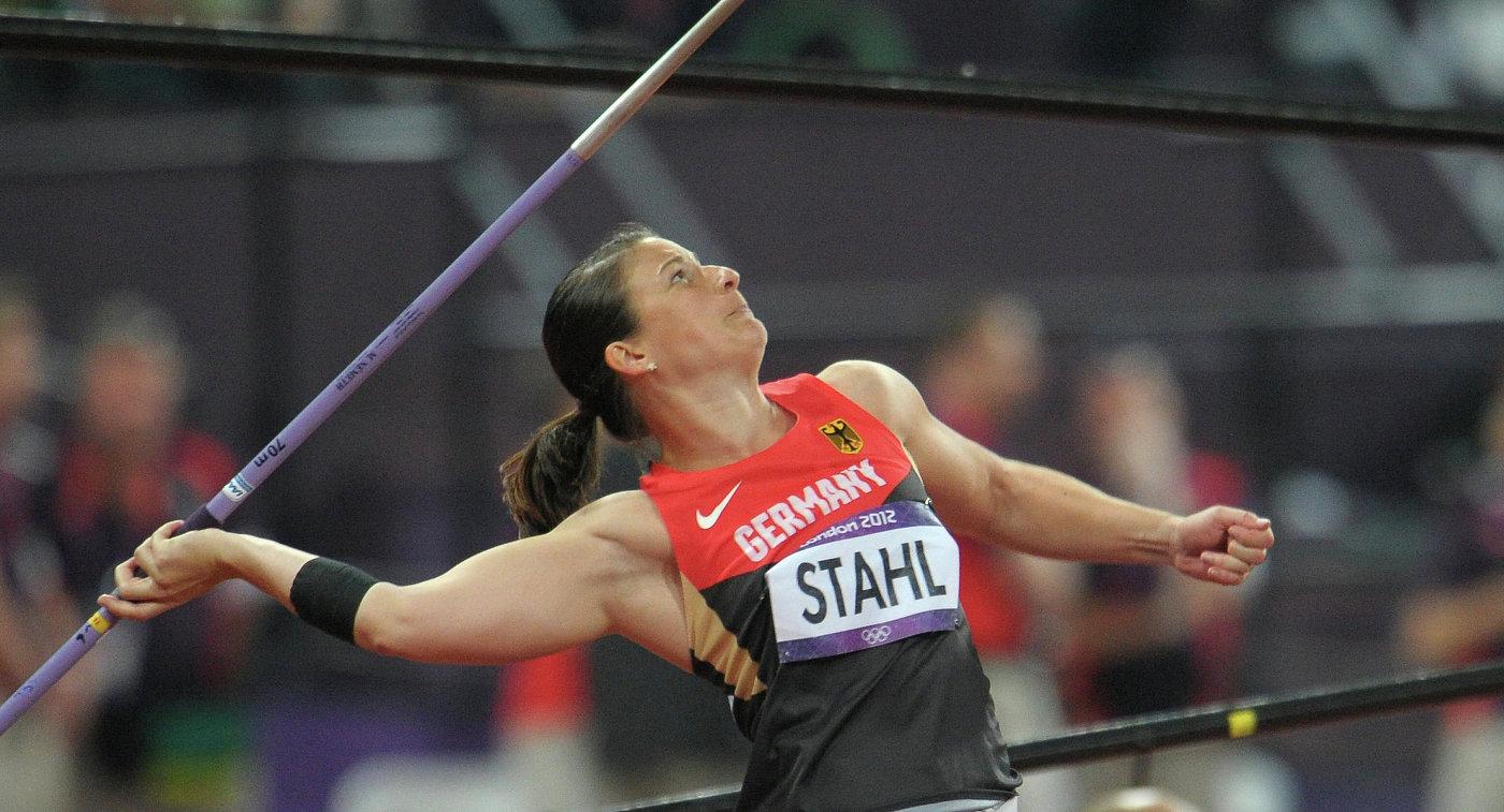 Линда Шталь Бронзовый призер Олимпиады-2012 немецкая копьеметательница Шталь завершила карьеру