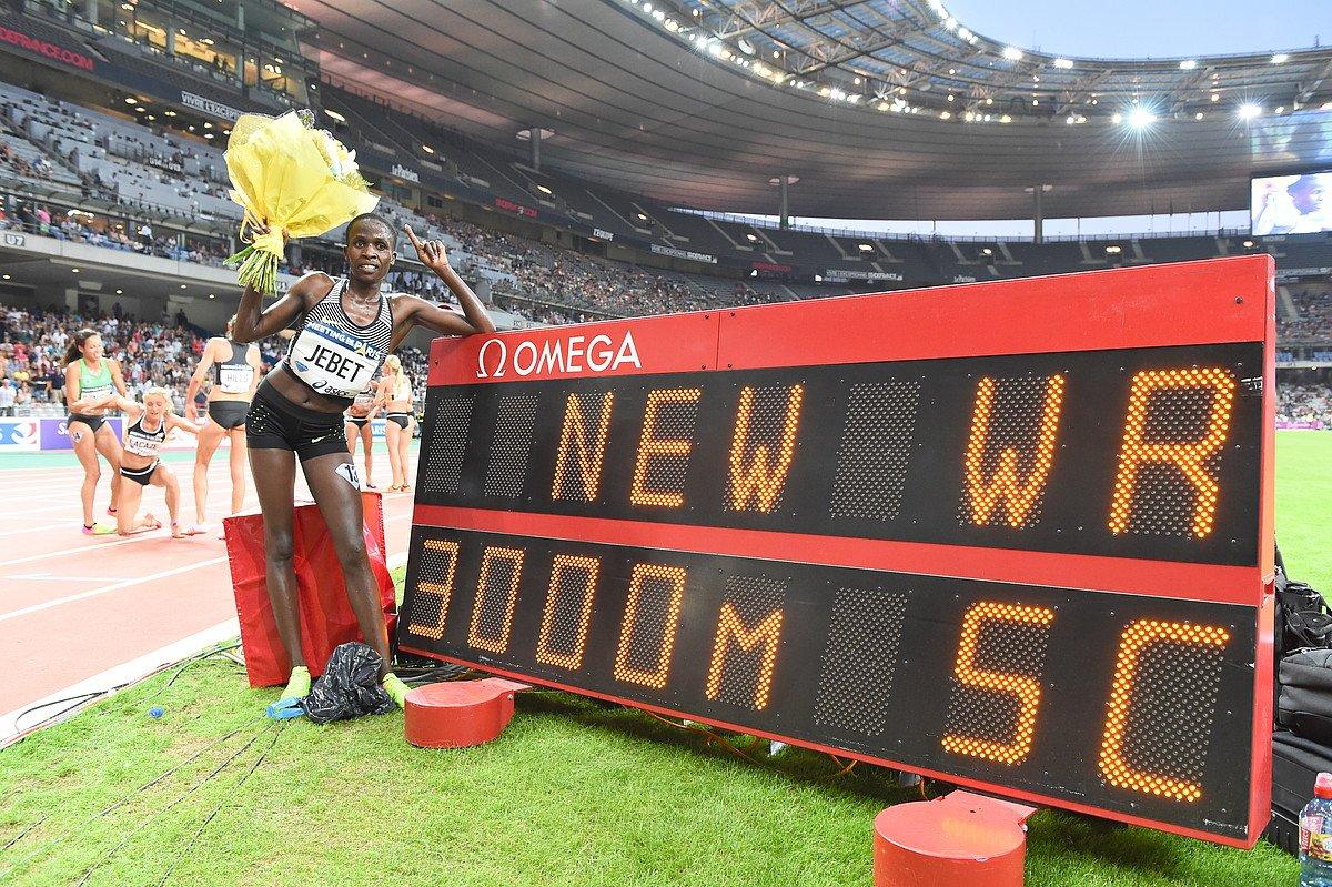 Рут Джебет побила мировой рекорд в беге с препятствиями на этапе Бриллиантовой лиги +Видео