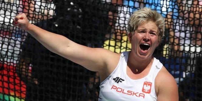 Анита Влодарчик обновила мировой рекорд в метании молота +Видео