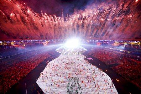 Фото с церемонии открытия Олимпиады в Рио