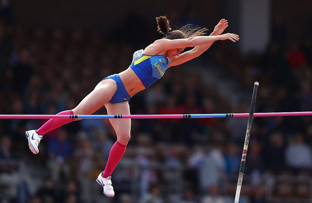 Украинка обновила национальный рекорд в прыжках с шестом