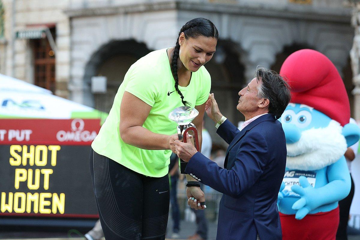 Валери Адамс – победительница общего зачёта «Бриллиантовой лиги» в толкании ядра