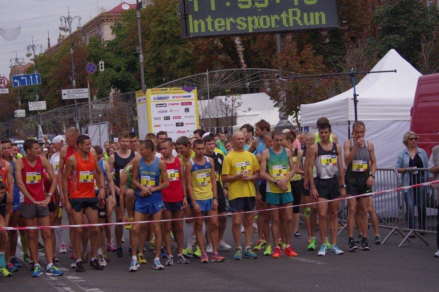 Результаты чемпионата Украины в беге по шоссе на 10 км
