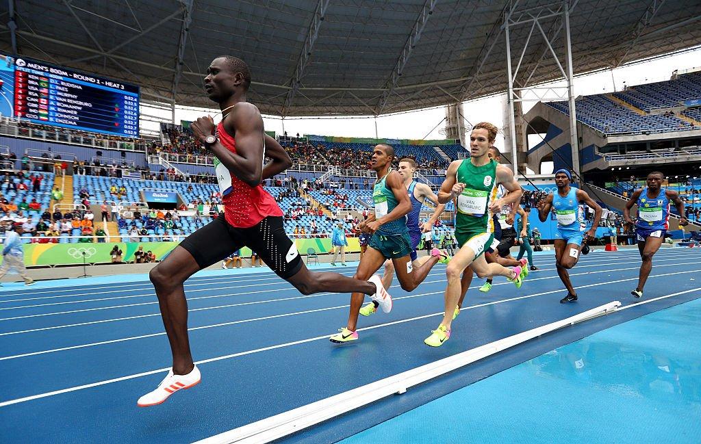 Дэвид Рудиша побил мировой рекорд на 500-метровке
