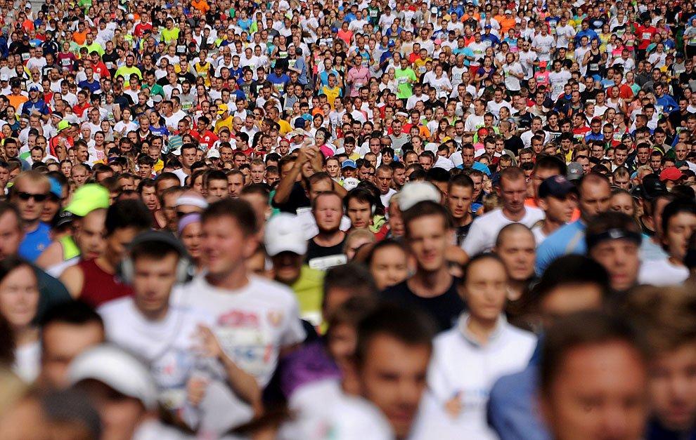 Во время марафона в Японии участники подверглись укусам ос