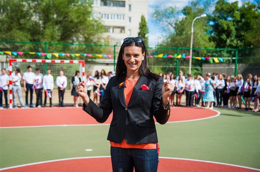 Фонд Елены Исинбаевой открывает очередную спортивную площадку