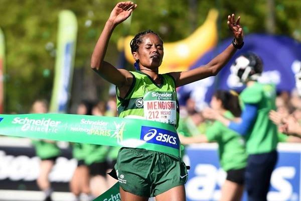 Эфиопские спортсмены доминировали на марафоне в Пекине