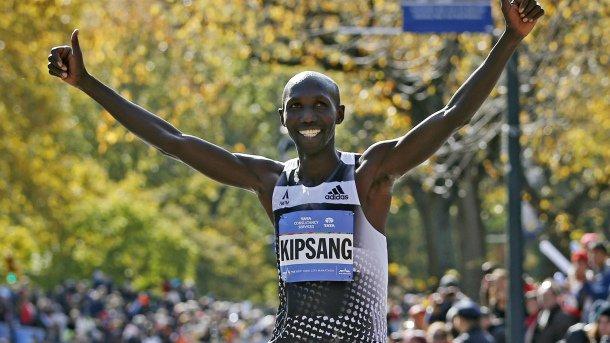 Уилсон Кипсанг намерен установить новый мировой рекорд в марафоне на Berlin Marathon