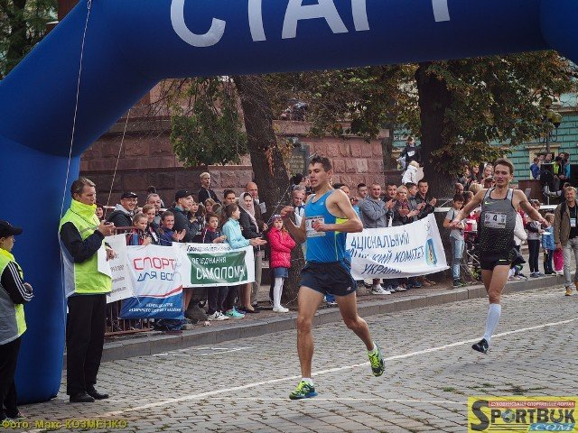 Владимир Киц и Тамара Левченко победители «Буковинской мили-2016»