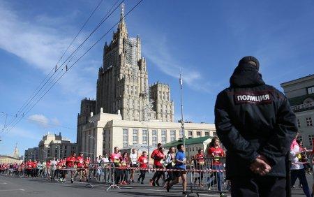 Россиянин Алексеев выиграл Московский марафон с рекордом трассы