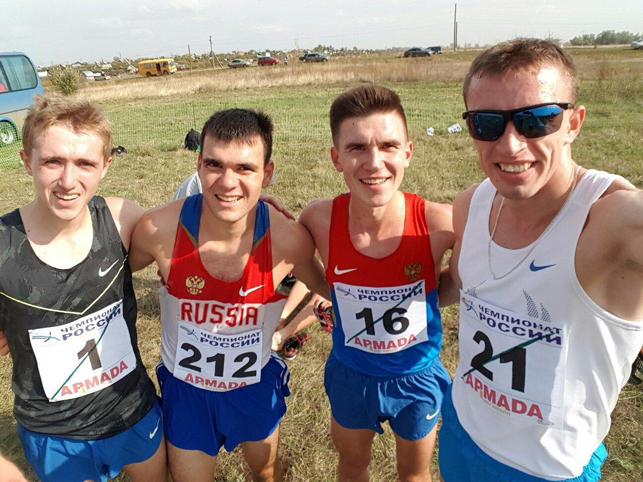 Результаты чемпионата России по кроссу