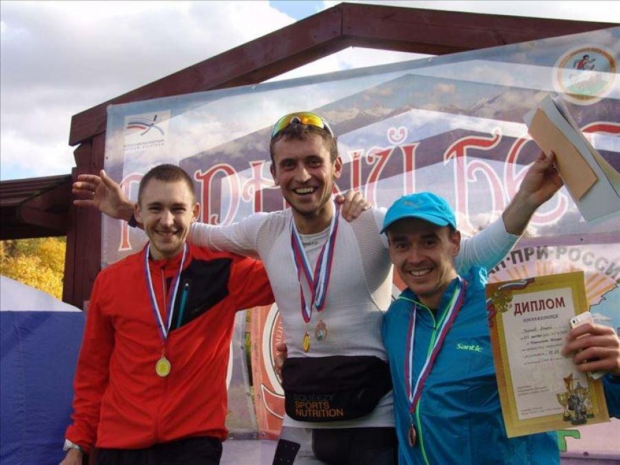Сергей Суббочев и Алёна Завьялова - победители Кубка России-2016 по горному бегу