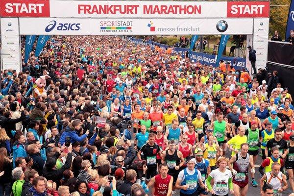 Результаты франкфуртского марафона +Видео