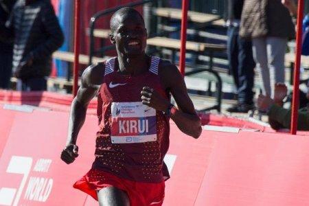 Флоренс Киплагат и Абель Кируи - победители Чикагского марафона