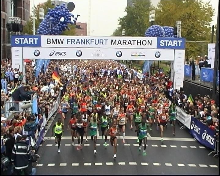 Видео Frankfurt Marathon-2016