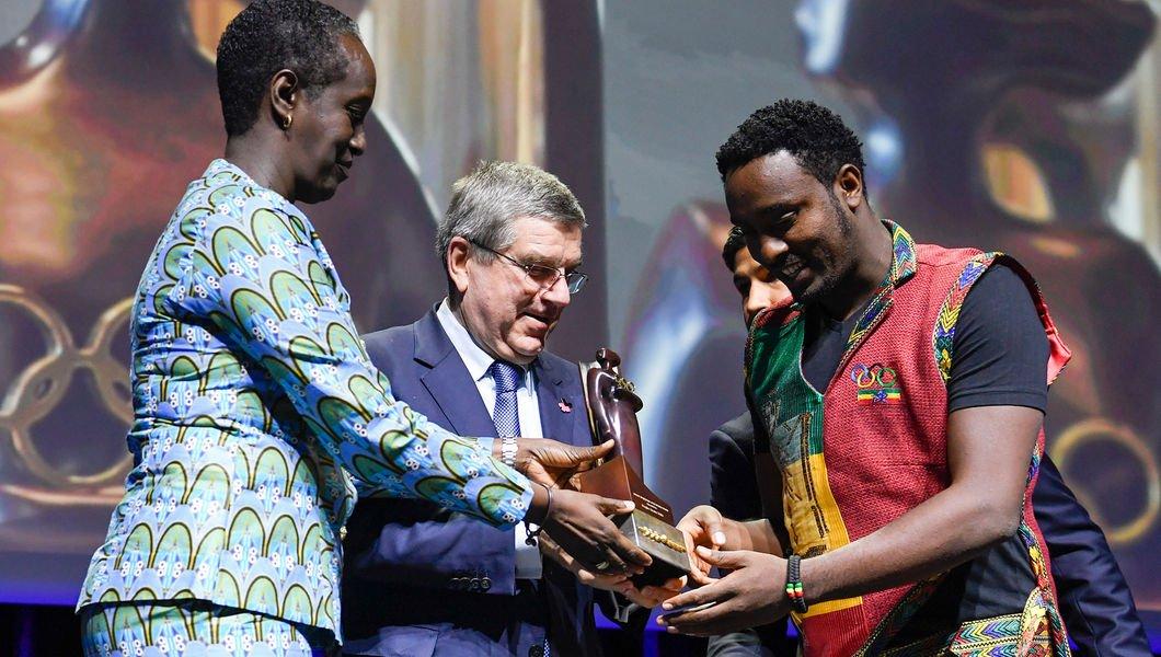 Награда МОК «Женщины и спорт» впервые досталась мужчине